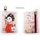 Myeong wol - Choo Choo cat card case holder