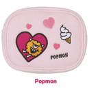 Popmon - Antenna shop Monster square large zipper pouch