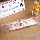 Jumpink rope girl - N.IVY Valerie studio clear folding slim pencil case