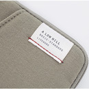 Dark beige - A low hill basic standard pocket card case ver.2
