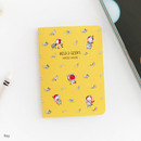 Rey - Romane illustration small plain and lined notebook