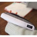 Clay white - Draw up a plan single zipper pencil case