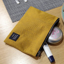 Golden yellow - Make your second plan medium slim pouch