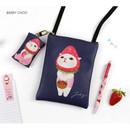 Berry choo - Choo Choo cat small crossbody bag ver.2