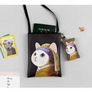 Choo Choo cat small crossbody bag ver.2