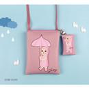 Oobi choo - Choo Choo cat small crossbody bag ver.2