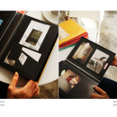 Livre de self adhesive black photo album