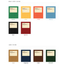 Colors of Livre de self adhesive black photo album