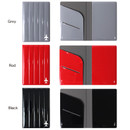 Color of Fenice Airplane enamel RFID blocking small passport cover