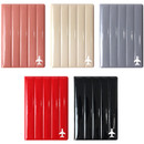 Fenice Airplane enamel RFID blocking small passport cover