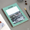 Mint - Colorful B5 size grid-lined class notebook