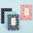 Colorful pattern medium soft lined notebook