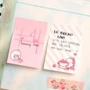 Molang nemo cute sticky memo note