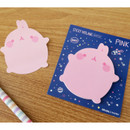 Pink - Molang basic cute sticky memo note ver.2