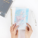 PET Cover - The classic gold spiral notebook