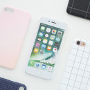 Matte simple hard case for iPhone 7