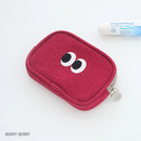 Berry berry - Som Som stitching card case pouch