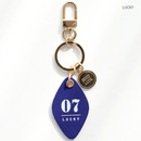 Lucky - Humming leather key chain key ring