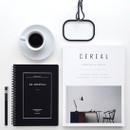 Black - Le journal undated weekly planner