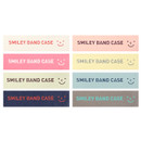 Logo color of Smiley pen case with elastic band holder