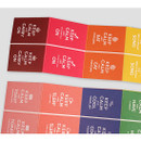 Carry on small label sticker set