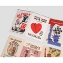 Vintage label paper sticker set ver2