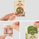 Vintage label paper sticker set ver2
