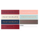 Logo of photograph self adhesive photo album
