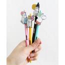 Moomin color gel pen 0.4mm