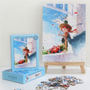 150 piece jigsaw puzzle - Anne of classic story - Blue
