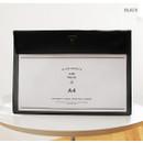 Black - Aire A4 size file folder pouch