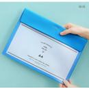 Blue - Aire A4 size file folder pouch