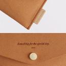 Wanna be chamude flat pocket card case