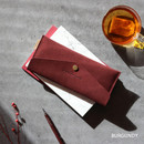 Burgundy - Wanna be chamude envelope pouch