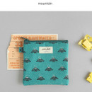 Mountain - Jam Jam cute illustration pattern small zipper pouch