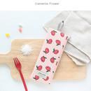 Camellia flower - Jam Jam webbing pencil case ver2