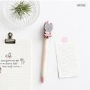 Mone - Hellogeeks petite black gel pen 0.4mm
