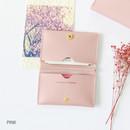Pink - Multi purpose twin pocket card case