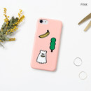 Pink - Ghostpop polycarbonate phone case for iPhone 7