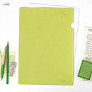 Lime - Aire delce A4 size document file holder