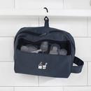 Hanging hook - Travel toiletry bag