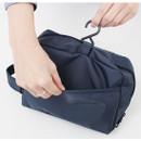 1 side pocket, 1 Hanging hook - Travel toiletry bag