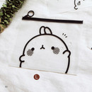 Hi - Molang zip lock large pouch ver2