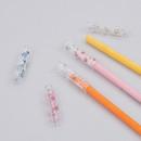 Bling animal clear pencil cap set