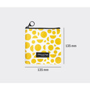 Size of Comely pattern small flat pouch