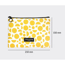 Size of Comely pattern medium flat pouch