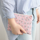 Posy - Comely pattern medium flat pouch