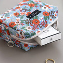 Blooming - Comely pattern makeup pouch bag