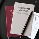 Gray - Un recueil dessais essay notebook