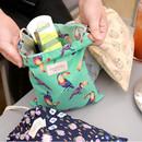 Florence pattern medium drawstring pouch
